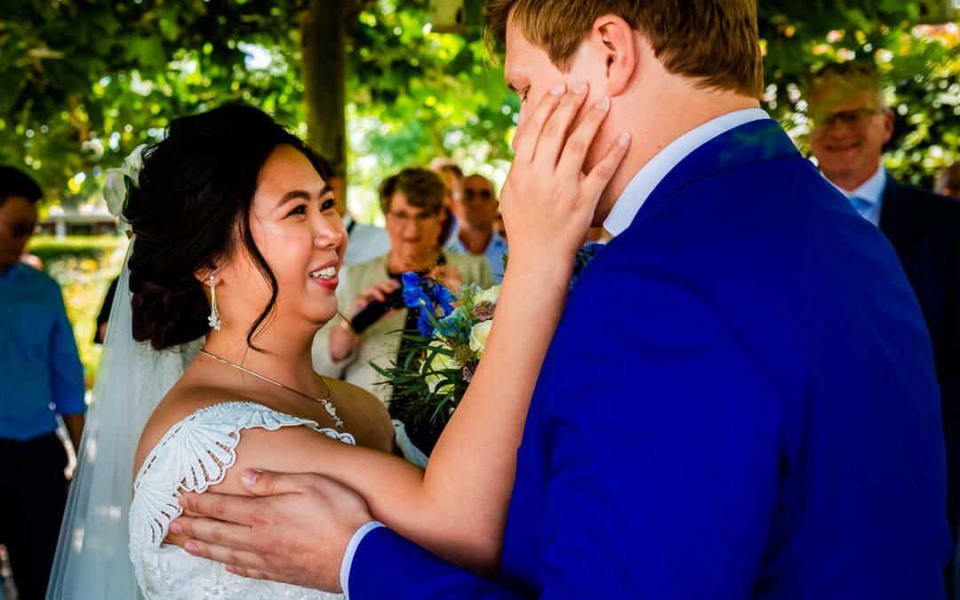 Trouwen in de tuin in Landsmeer – Mark en Vanessa