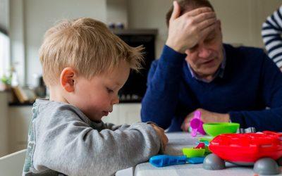 Opa en oma passen op – Familie Jonkers